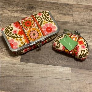 💥NWT💥 Vera Bradley Coin Purse and Make Up Pouch